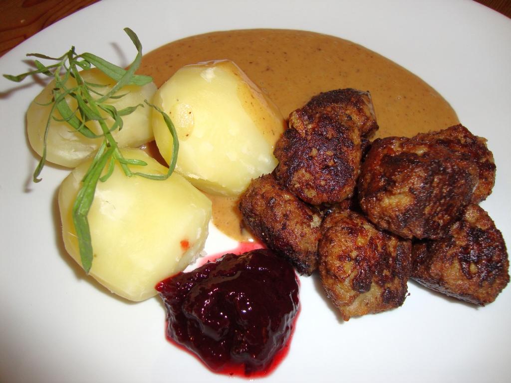 köttbullar recept med potatis i smeten
