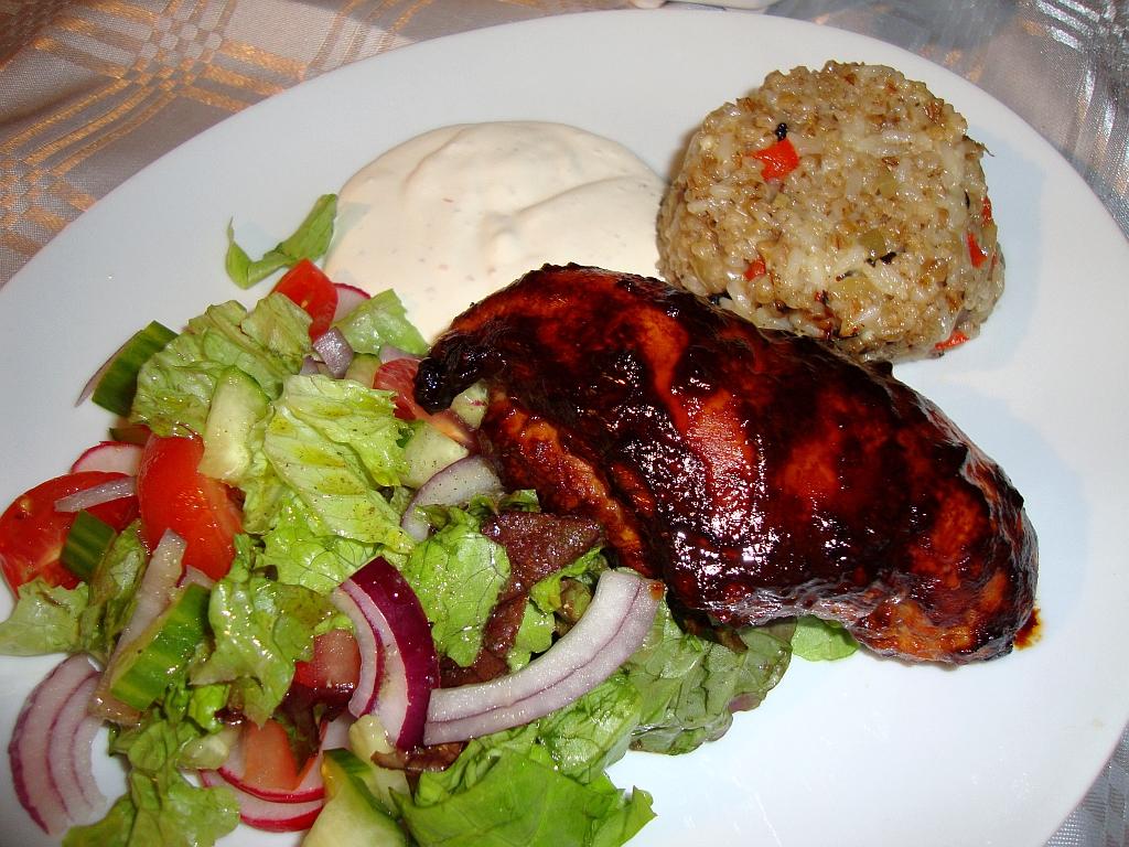 hemmagjord marinad till kyckling