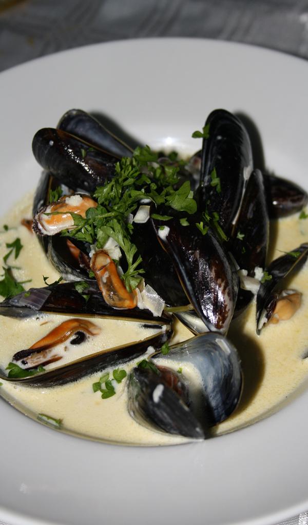 förrätt musslor burk