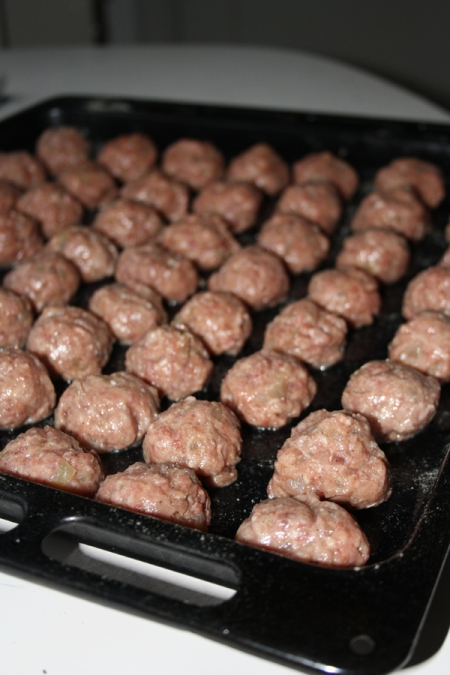 Viltköttbullar