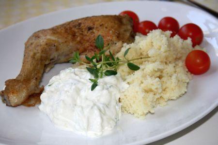 Kyckling, couscous och tzatsiki2