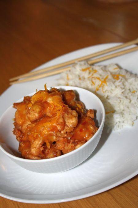 Kinesisk apelsinkyckling1