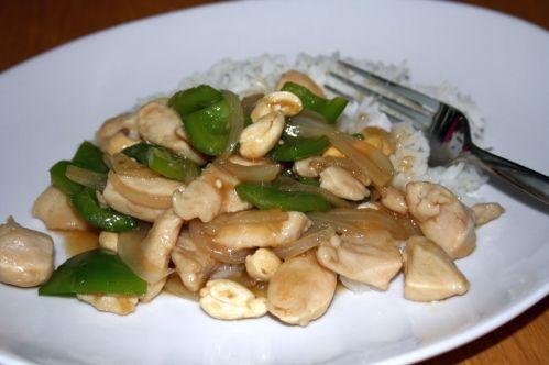 Kyckling med cashewnötter1