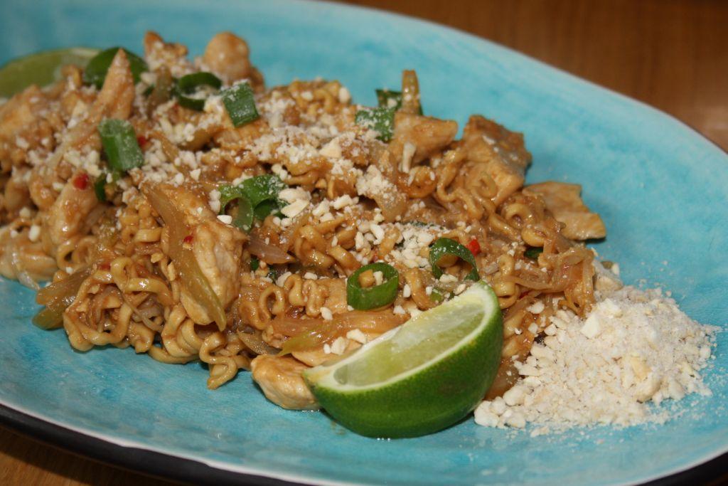 thai nudlar recept